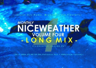 """NICEWEATHER"" VOLUME FOUR FLYER"