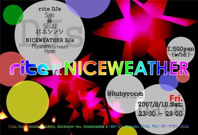 rite vs. NICEWEATHER
