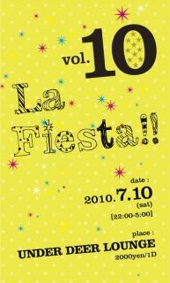 La Fiesta!! vol.10 a