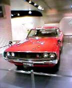 ケンとメリーのスカイラインH/T2000GT-R(KPGC110型1973年)前