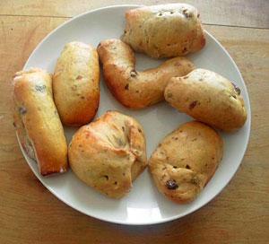 子どもとパン作り
