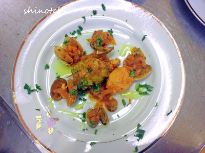 料理講習 イタリアン ロールキャベツ
