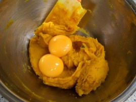 卵黄入れる