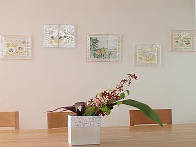 岡部慶子イラスト展