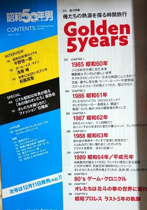 50 年 男 昭和
