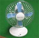 夏と言えば扇風機、の画像。