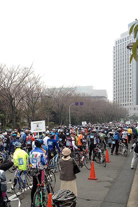 大阪サイクルイベント2012 スタート前