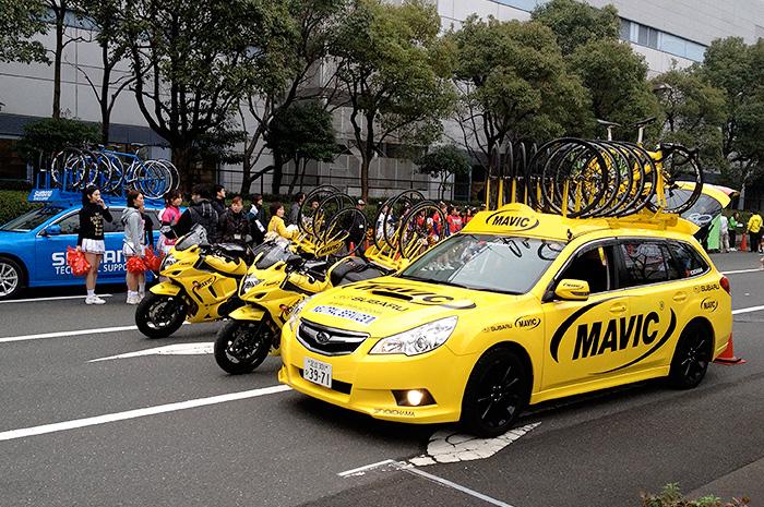大阪サイクルイベント Mavicカー