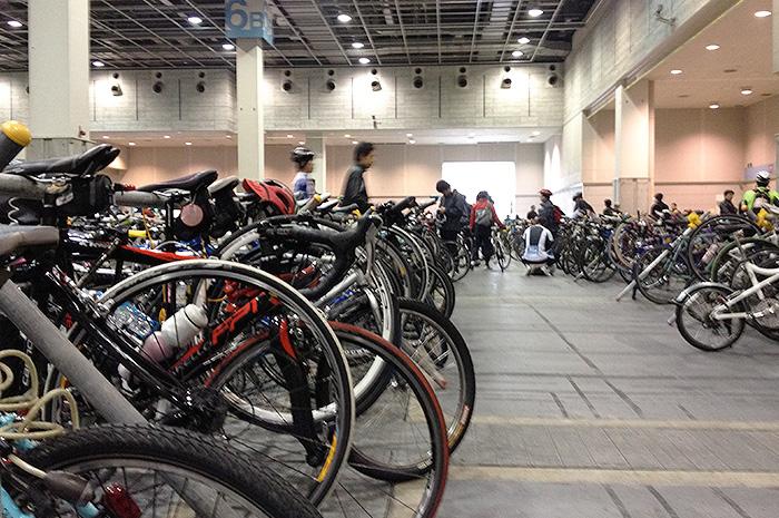 大阪サイクルイベント2012 受付