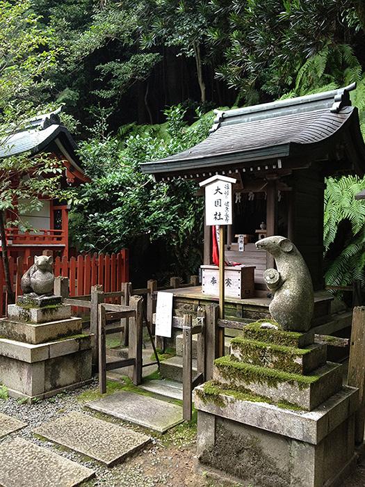 大豊神社 狛鼠