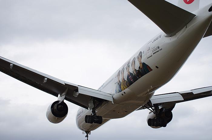 ARASHI飛行機