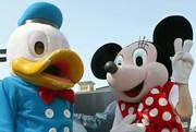 目の中に目がある duck and mouse