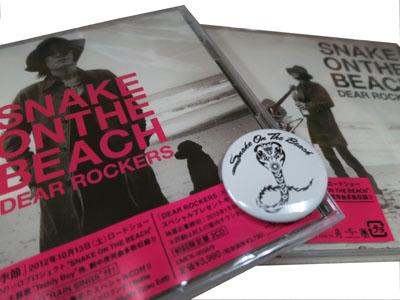 SNAKE ON THE BEACH(チバユウスケ)「DEAR ROCKERS」