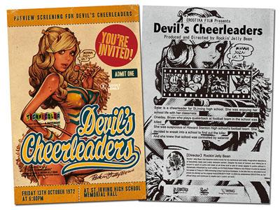 Rockin'Jelly Bean ロッキンジェリービーン Devil's Cheerleadersフィギュア