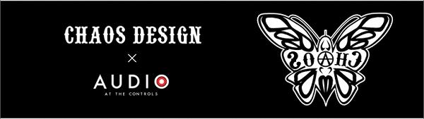 CHAOS DESIGN Tシャツ CHAOS DESIGN×AUDIO