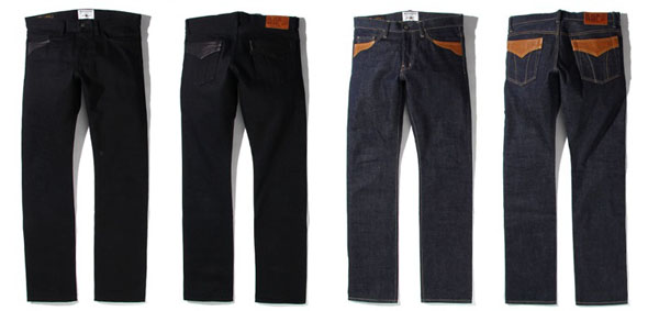 RUDE GALLERY BLACK REBEL / Road Jack-1 DENIM PANTS ルードギャラリーブラックレベル