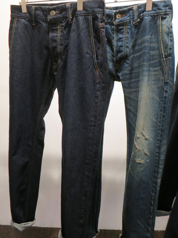 GAVIAL / NEW STRAIGHT DENIM PANTS(OWN WASH)(USED) gavial中村達也