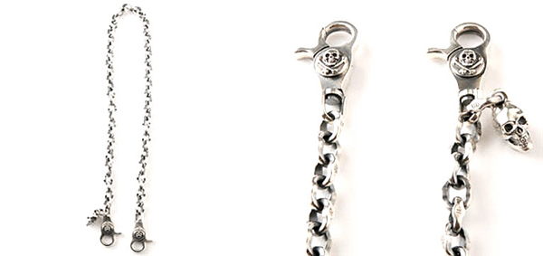 RUDE GALLERY / WALLET CHAIN TYPE-2 RUDE GALLERYウォレットチェーン ルードギャラリー