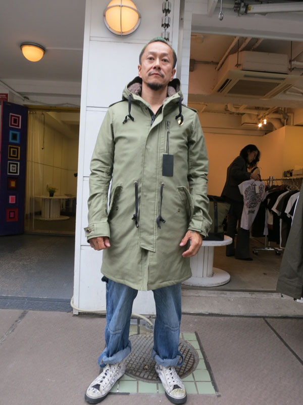 GAVIAL 2016 AUTUMN&WINTER COLLECTION gavial中村達也 gavialモッズコート