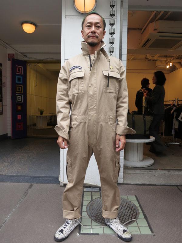 GAVIAL 2016 AUTUMN&WINTER COLLECTION gavial中村達也 gavialツナギ