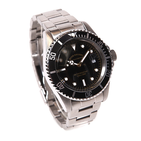RUDE GALLERY GOOD OLD DIVER DATE WATCH �롼�ɥ���� ����