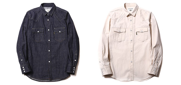 RUDE GALLERY BLACK REBEL / ROAD JACK DENIM SHIRTS<ONE WASH,RENEWAL> ルードギャラリーブラックレベル