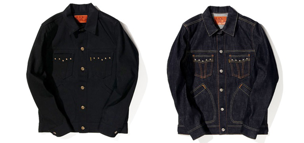 RUDE GALLERY BLACK REBEL / Road Jack-2 DENIM JKT ルードギャラリーブラックレベル