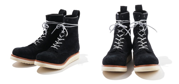 RUDE GALLERY BLACK REBEL / REBELS LACE UP BOOTS <CAP TOE,SUEDE> ルードギャラリーブラックレベル ブーツ