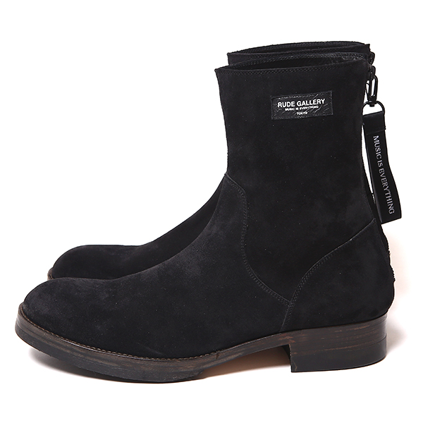 RUDE GALLERY / BACK ZIP BOOTS -SUEDE ルードギャラリー ブーツ