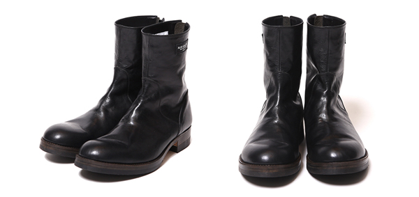 RUDE GALLERY / BACK ZIP BOOTS -LEATHER ルードギャラリー ブーツ