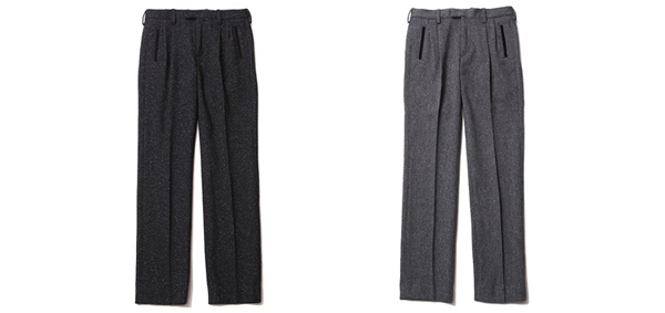 RUDE GALLERY BLACK REBEL / Mr.TEDDY TROUSERS <16AW> ルードギャラリーブラックレベル