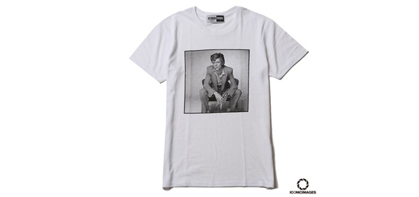 "RUDE GALLERY / ICONICIMAGES ""DAVID BOWIE""×RUDE GALLERY TEE-4 デヴィッド・ボウイ"