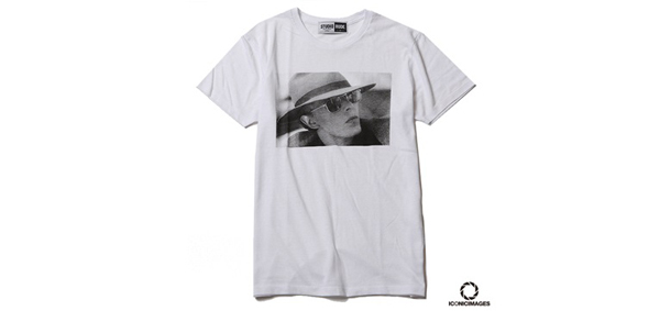"RUDE GALLERY / ICONICIMAGES ""DAVID BOWIE""×RUDE GALLERY TEE-3 デヴィッド・ボウイ"