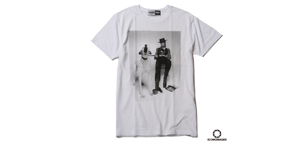 "RUDE GALLERY / ICONICIMAGES ""DAVID BOWIE""×RUDE GALLERY TEE-2 デヴィッド・ボウイ"