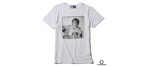 "RUDE GALLERY / ICONICIMAGES ""DAVID BOWIE""×RUDE GALLERY TEE-1 デヴィッド・ボウイ"