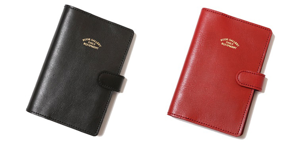 RUDE GALLERY / POCKET BOOK DAILY EQUIPMENT デイリーイクイプメント RUDE GALLERY 手帳