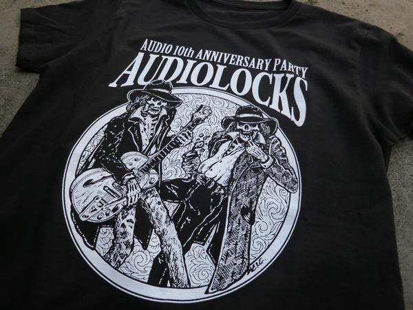 "AUDIO 10th ANNIVERSARY PARTY""AUDIOLOCKS"" Midnight Bankrobbers(チバユウスケ・イマイアキノブ)、中野ミホ(Drops)"