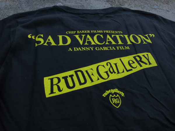 シド・ヴィシャス&ナンシー ドキュメンタリー映画「SAD VACATION ラストデイズ・オブ・シド&ナンシー」RUDE GALLERY ルードギャラリー