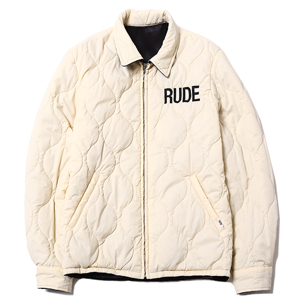 RUDE GALLERY / SMOKING SKULL×MARIA QUILTING JACKET ルードギャラリー RUDE GALLERY マリア