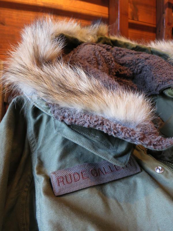 RUDE GALLERY / MODS COAT ルードギャラリー モッズコート