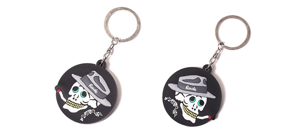 RUDE GALLERY / SMOKING SKULL KEYHOLDER ルードギャラリー