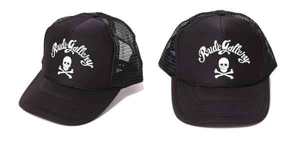 RUDE GALLERY / MAD SKULL MESH CAP ルードギャラリー メッシュキャップ