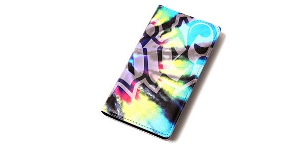 RUDIES / SPARK TIEDYE iPhone7 BOOKCASE ルーディーズ iPhoneケース
