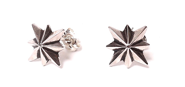 RUDE GALLERY BLACK REBEL / GOOD LUCK PIERCE -STAR <CHAOS DESIGN COLLABORATION> ルードギャラリーブラックレベル カオスデザイン