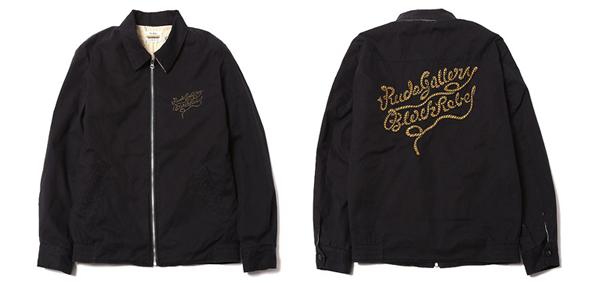 RUDE GALLERY BLACK REBEL / ROPE LOGO SWING TOP <ARTWORK by H.U.> ルードギャラリーブラックレベル マジカルデザイン スイングトップ
