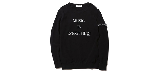 RUDE GALLERY / RUDE NATION CREW SWEAT ルードギャラリー スエット