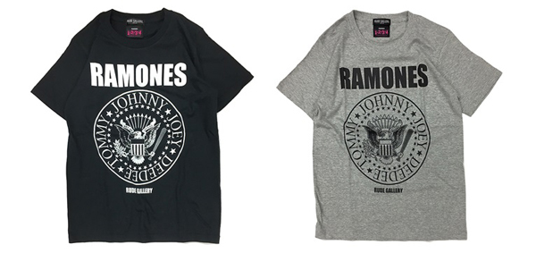 RUDE GALLERY / RAMONES MEETS RUDE GALLERY TEE ラモーンズ Tシャツ ルードギャラリー