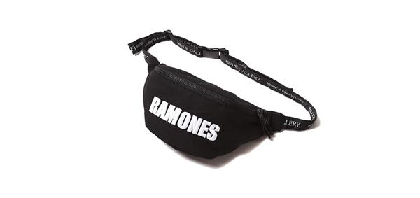 RUDE GALLERY / RAMONES MEETS RUDE GALLERY WAIST BAG ラモーンズ ウエストポーチ ルードギャラリー