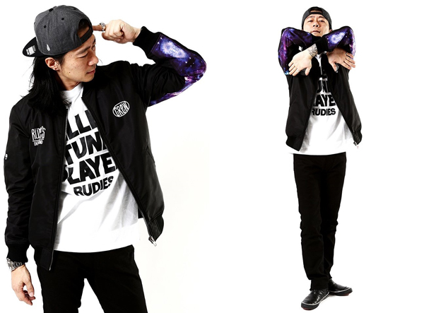 RUDIES / DRAWING BLOUSON ルーディーズ JU-KEN