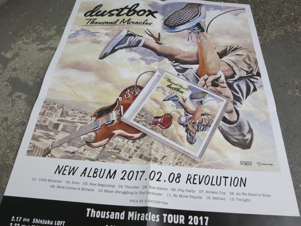 dustbox「Thousand Miracles TOUR 2017」